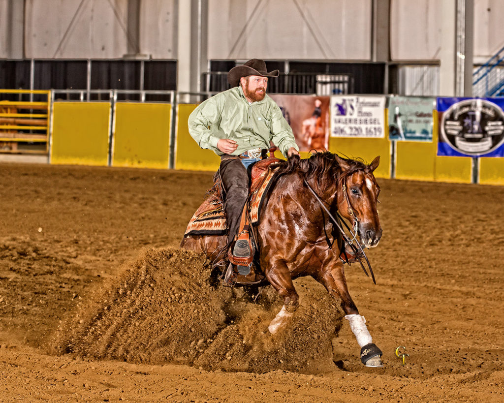 Its Rainin Spooks quarter horse reiner for sale